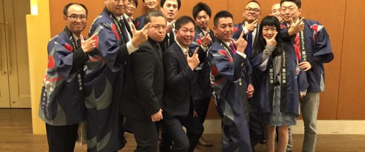 石川県連加賀YEGさんにPRキャラバン隊が訪問させて頂きました。