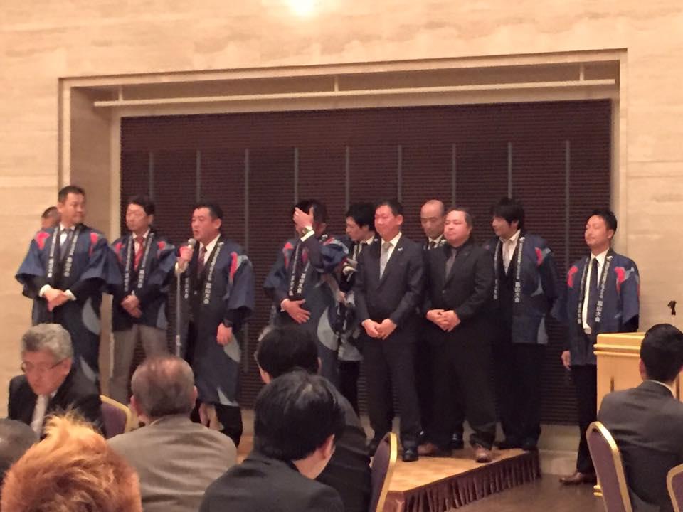 富山YEGブロック大会から石川県連加賀YEGさんにPRキャラバン隊が訪問させて頂きました。
